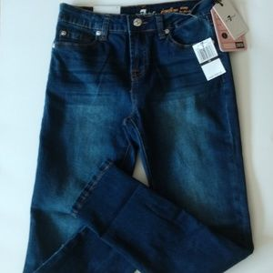 7 For All Mankind Girls Jeans Size 12 New